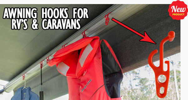 caravans and rvs awning hooks