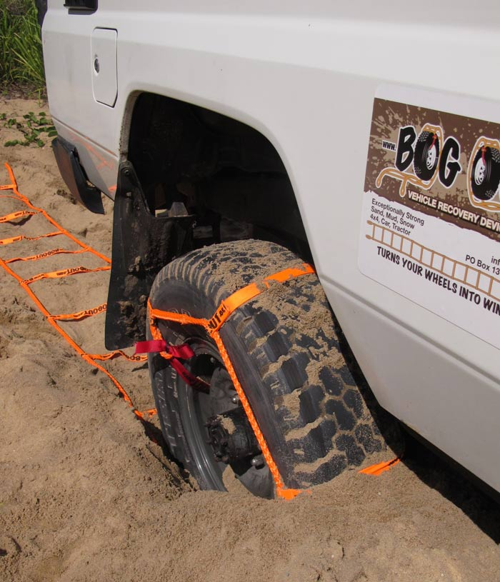 BOG OUT Twin Pack - 4WD Vehicle Recovery System - Use Your