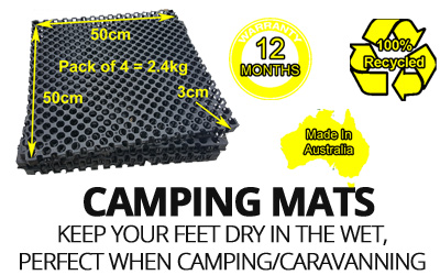 Camping, Caravan, Motorhome Floor Mats-Annex & Outdoor Flooring