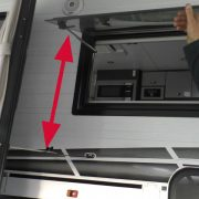 Clearance that the Door Latch Extender Shows After Being Fitted