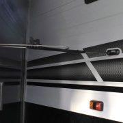 Door Latch Extension Attached to Caravan