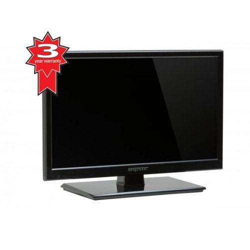 "Majestic L194DA 12V LED TV 19"" HD, DVD, Low Power Current Draw-3 Year Warranty"