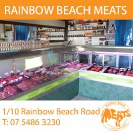 rainbow beach meats