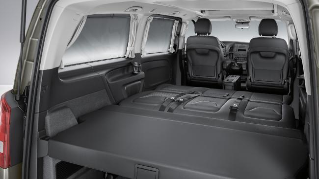 Mercedes benz unveil their kombi campervan free range for Mercedes benz camper van price