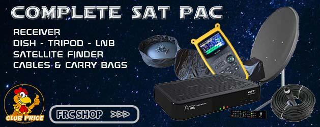 Satellite TV Kits for Motorhomes & Caravans - Free Range Camping