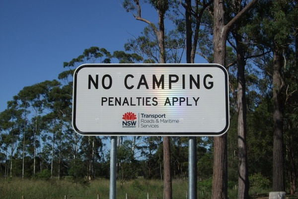 Rest Areas, Full Range Camping