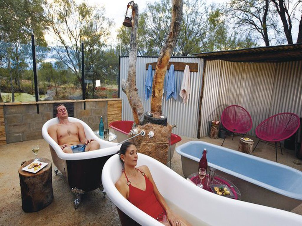 Artesian Mud Baths Great Relaxation For Campers