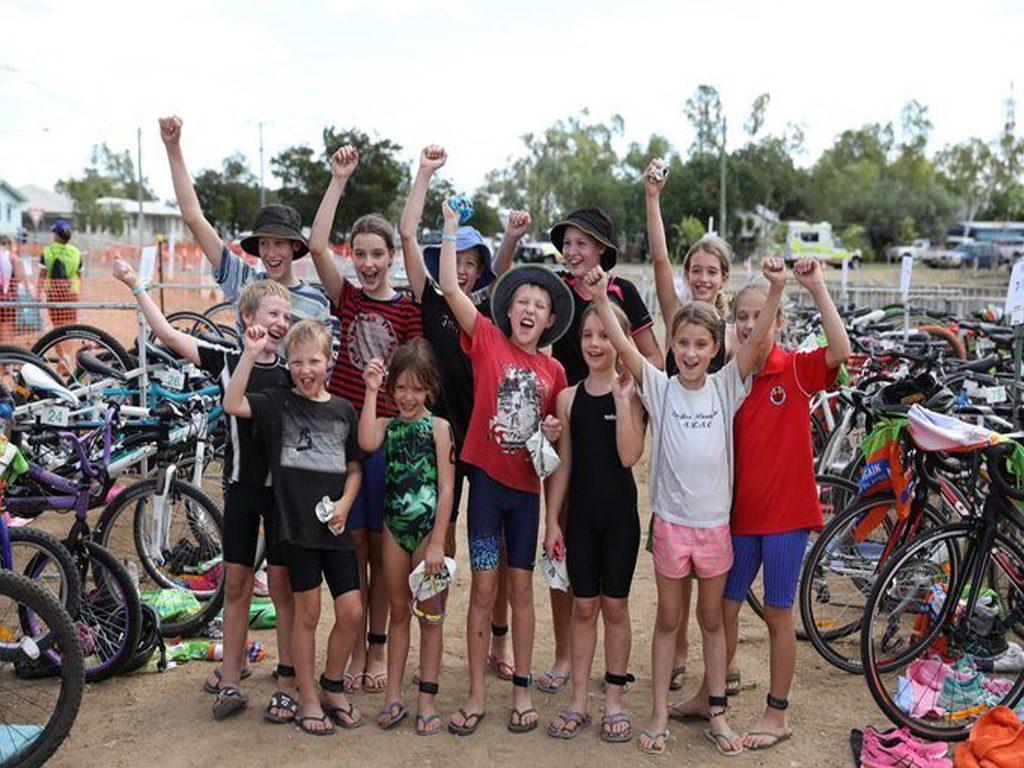 Junior Triathlon For Kids At Julia Creek