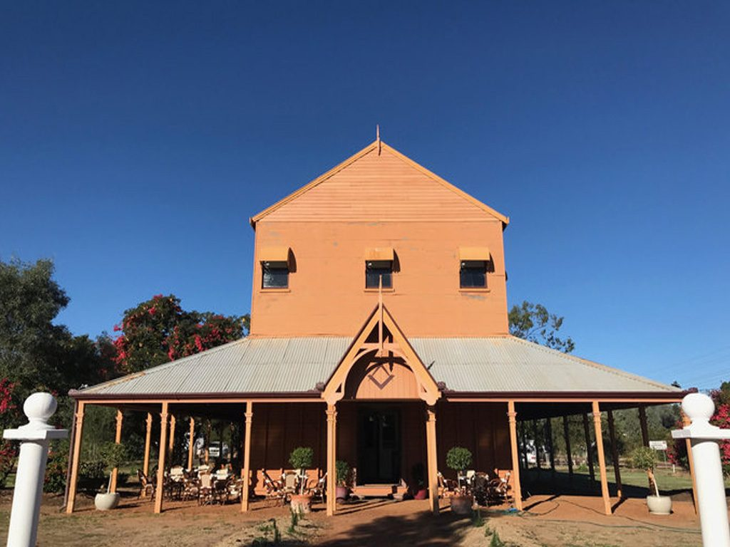 Steeped In History is The Lodge On Hawthorn Blackall