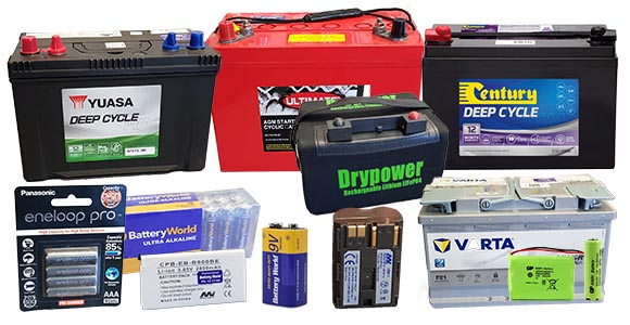 Battery World Has Numerous Battery Types