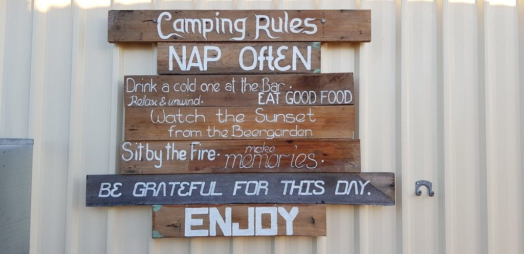 Simple Rules At Deepwater Inn Longhorn Bar and Grill