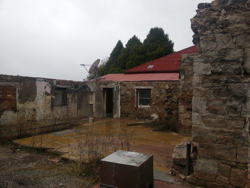 Inside Of The Deepwater Inn After It Got Burnt