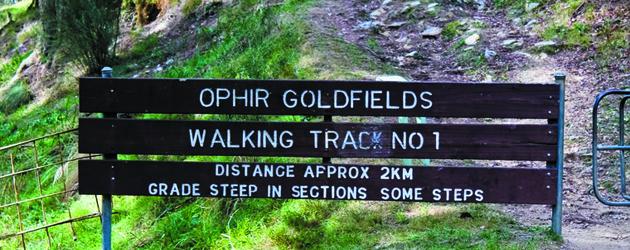 Ophir Goldfields Walking Track