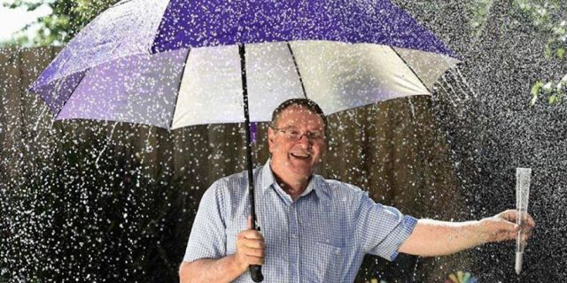 Aussie Driving Weatherman