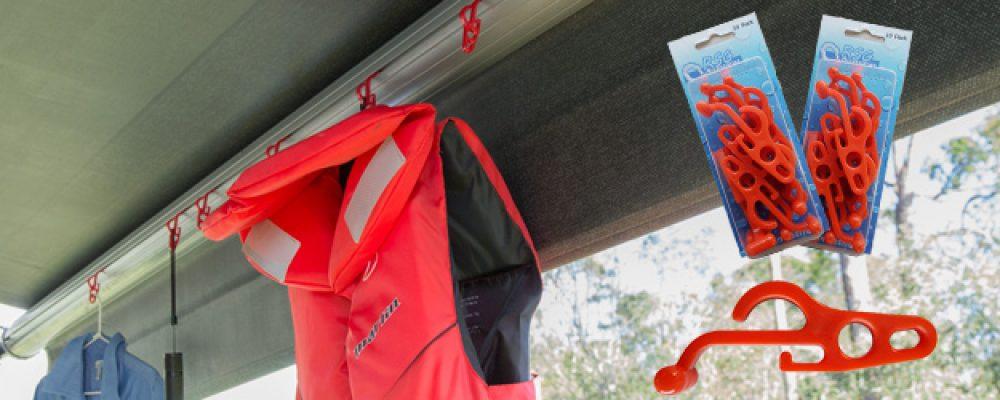 Nylon Flexible RV & Caravan Awning Hooks