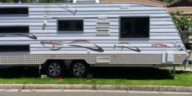Caravans, RV's & Kerbside Parking
