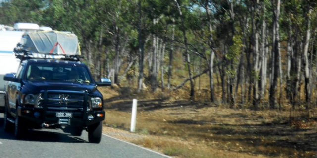 Safe Overtaking While Towing a Caravan