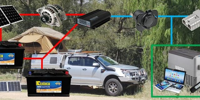 Dual Battery Systems for Campers – from Battery World