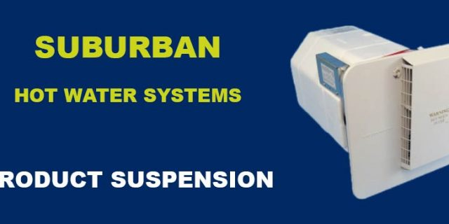 Suburban Hot Water Systems – Product Recall