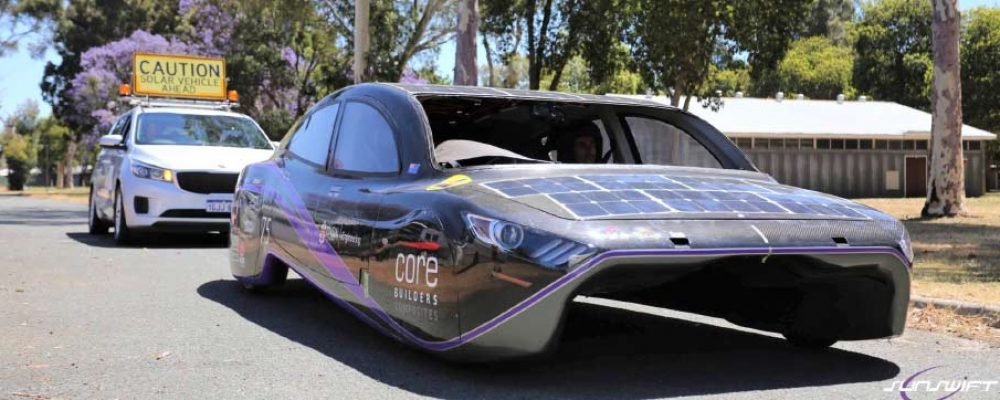 Using Solar Power to cross the Nullarbor – Sunswift & Violet