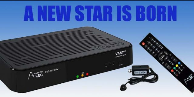 The New VAST Satellite Set Top Box – Just for Caravans & RV's