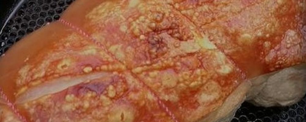 Camp Oven – Roast Pork with Crackling