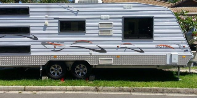Caravans, RV's & Kerbside Parking