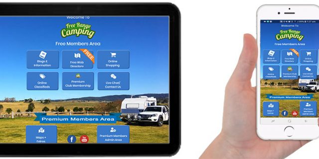 The Free Range Camping App – Version 2.0