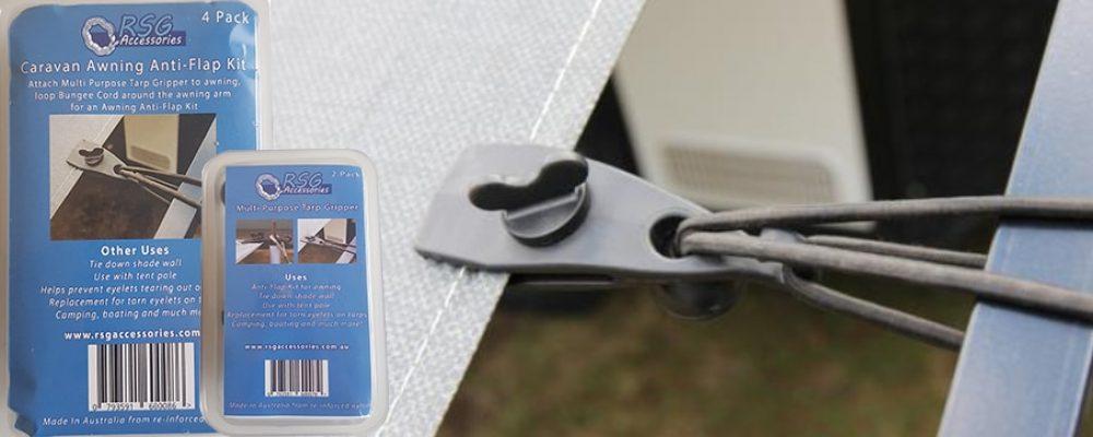 RSG Multi-Purpose Tarp Grippers & Anti Flap Kit