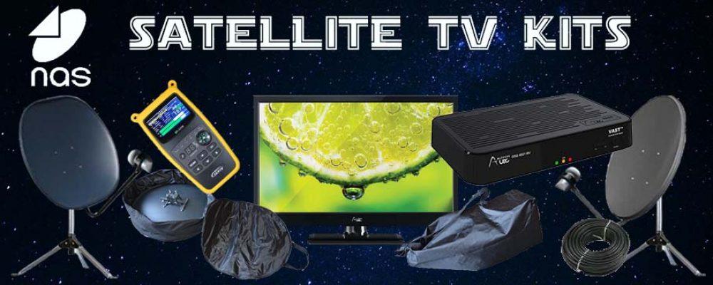 Satellite TV Kits for Motorhomes & Caravans
